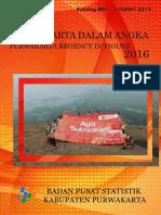 Kabupaten Purwakarta Dalam Angka 2016