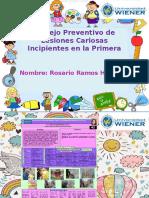 Manejo- Preventivo de Lesiones Cariosas Incipientes en La Primera Infancia.