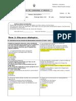 Examen Lenguaje 1ero 2013