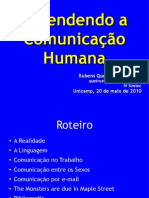 Entendendo a Comunicação Humana