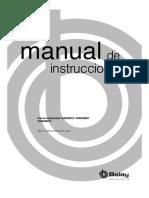 Manual Horno