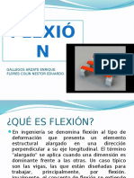 flexion exposicion