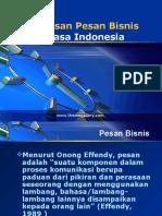 Materi 1 - Penulisan Pesan Bisnis Bahasa Indonesia