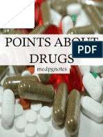 Points About Drugs Sample