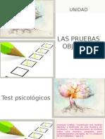 PRESENTACION - PRUEBAS  OBJETIVAS