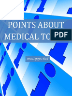 Points About Medical Topics Sample