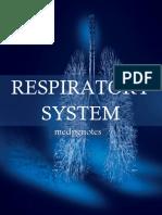 Respiratory System Sample