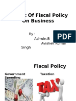 (17,18)Impact of Fiscal Policy on Business