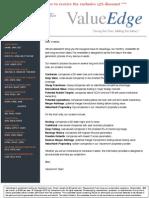 Value Edge Newsletter Discount