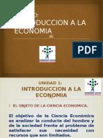 Unid 1 Introduccion a La Economia