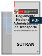 Reglamento Nacional de Administración de Transporte sutran.pdf
