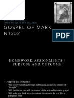 Intro to Gospel of Mark and 1.1_8 NT352 Fall 2016
