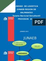 Junaeb Jornada de La 5º Region E_basica 2015