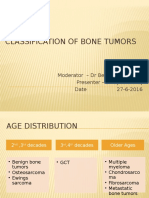 Classification of Bone Tumors New