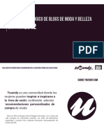 Web 20121009 Estudio Sociologico de Blogs de Moda y Belleza 2012