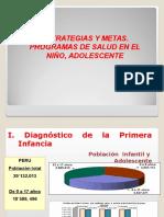 2...Estrategias y Metas. Programas de Salud en El Niño, Adolescente