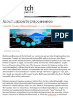 Accumulation by Dispossession – Briarpatch Magazine