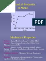 Mechanical Properties of Metal