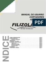 Manual Do Usuário Cortadores 101-s - 101-Sa