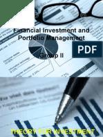 Investment & Portfolio Mgt
