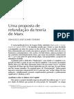 Uma Proposta de Refundação Da Teoria de Marx