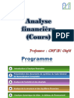 Analyse Financière S4 Cours CHTIBI UM5A Chp1
