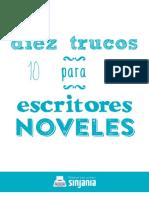 Diez Trucos Para Escritores Noveles