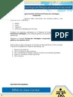 Evidencia 2 Act 8 Diligenciamiento Del Formato Planeacion Estrategica Comparada