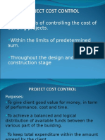 PROJECT COST CONTROL.ppt