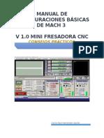 Manual de Configuraciones Básicas de Mach 3