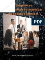 O Preparo Do Professor EBD - AP