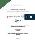 GUIA SECTORIAL CTeI Colciencias Versión Final