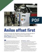 Anilox Offset First