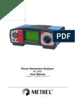 MI 2092 Power Harmonics Analyser ANG Ver 2.1!20!750 715
