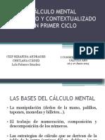 1. Cµlculo Mental Razonado y Contextualizado