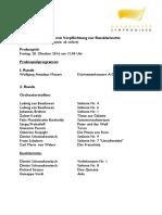 Nürnberg Probespielstellen Liste