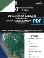 José Purisaca - Inka Terra Icbar - San Marcos