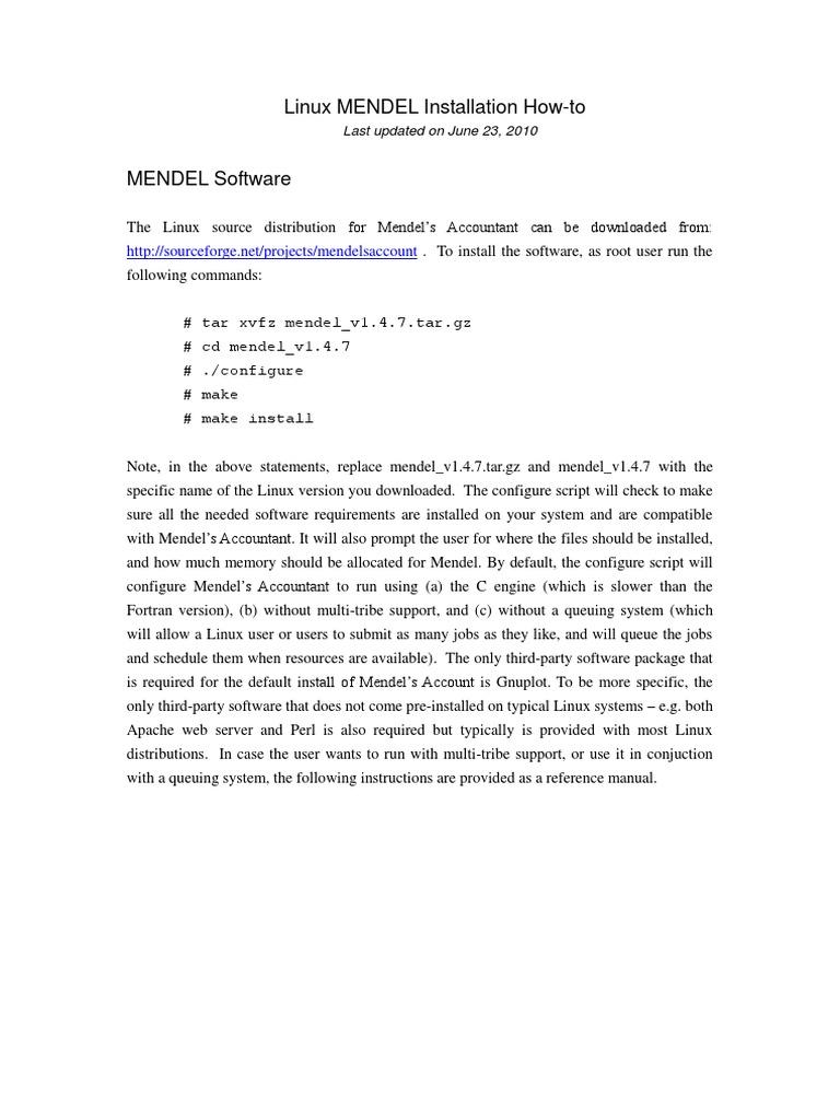 Mendel Linux Howto | Web Server | Apache Http Server