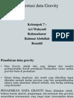 Interpretasi Data Gravity Slide Fix