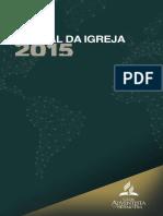 Manual Da IASD 2015