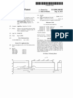 """U.S. Patent 8,801,948, entitled """"TFT Mask Reduction"""", To Apple Computer, issued 2014."""