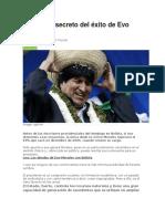 Economia Evo Morales Articulos