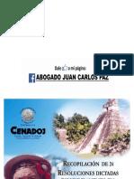 Resoluciones Dictadas Con Fundamento en Usos y Costumbres Indigenas en Observancia Del Convenio OIT 169 GUATEMALA
