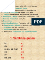 Grammar Revision Anja Bendtschneider