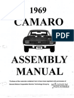 1969 Camaro Assembly Manual Pdf
