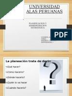 Planificacion y Administracion Estrategico