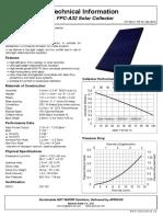 Apricus FPC-A32 Tech Info