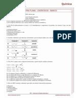 Isomeria Plana Exercícios - Básico