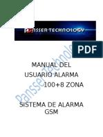 Manual Alrmas GSM (Español)