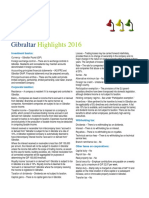 Deloitte Tax Gibraltarhighlights 2016